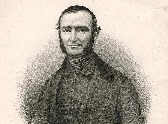 Portrait of Perdiguier circa 1845